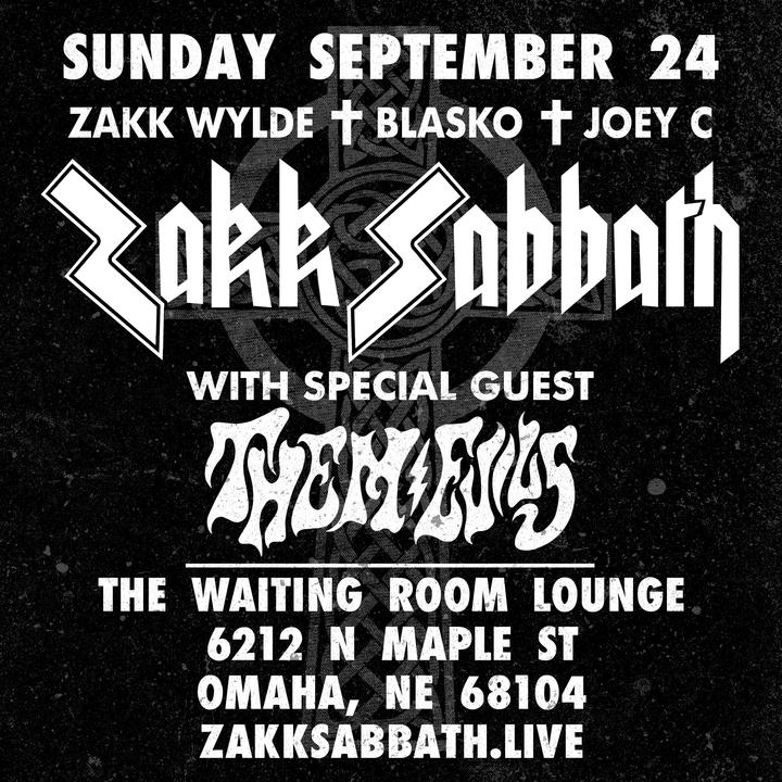Zakk Wylde @ The Waiting Room Lounge - Omaha, NE