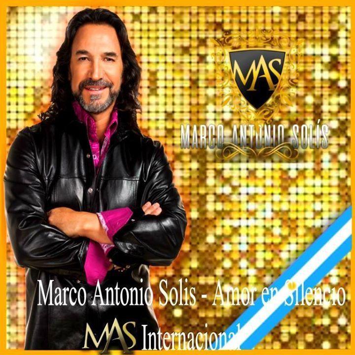 Marco Antonio Solis - Amor en silencioM.A.S Tour Dates
