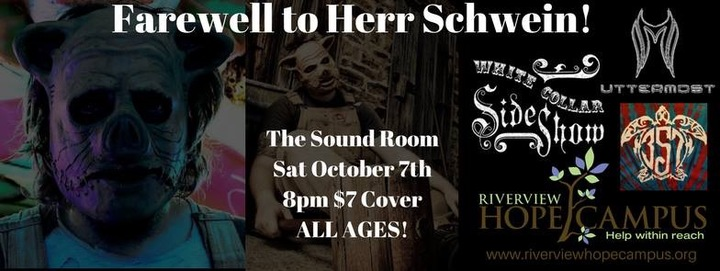 White Collar Sideshow @ The Sound Room - Fort Smith, AR