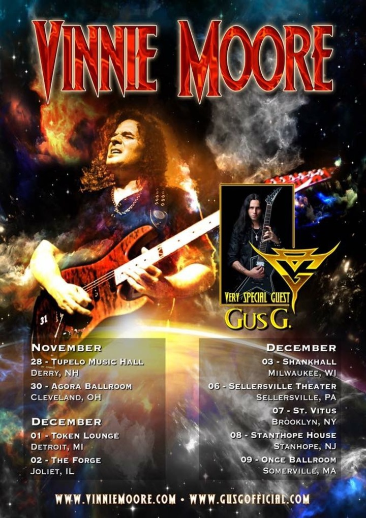 Gus G @ The Forge - Joliet, IL