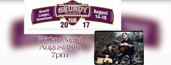 Smith & Wesley @ Grundy County Fairgrounds - Gruetli Laager, TN