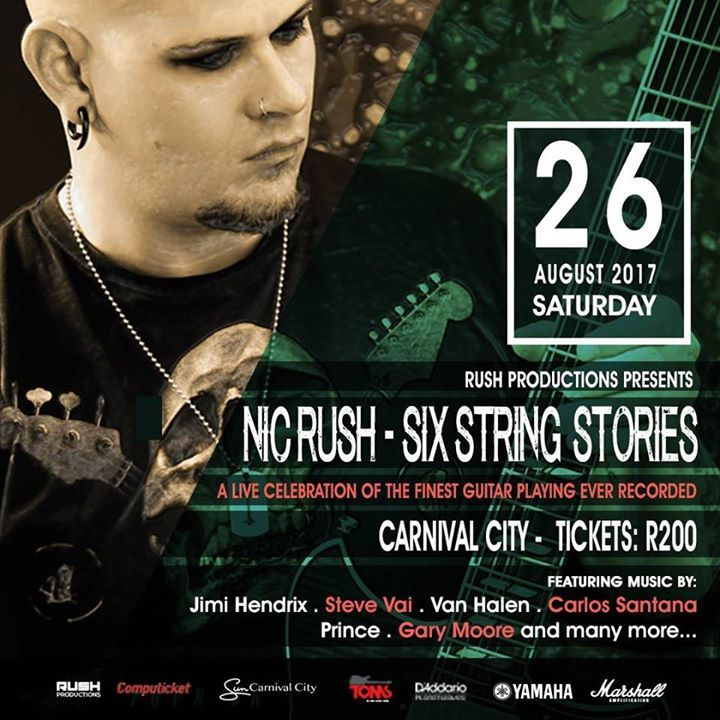NIC RUSH Tour Dates