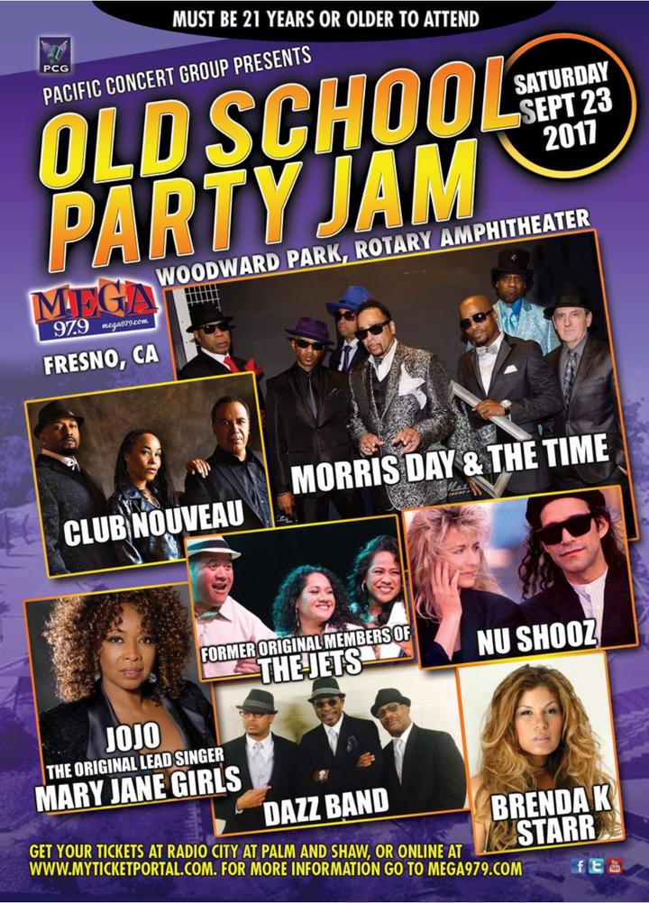 Nu Shooz @ Woodward Park Rotary Amphitheater - Fresno, CA