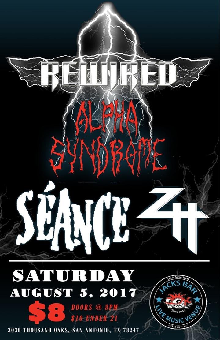 Alpha Syndrome @ Jacku0027s Patio   San Antonio, TX