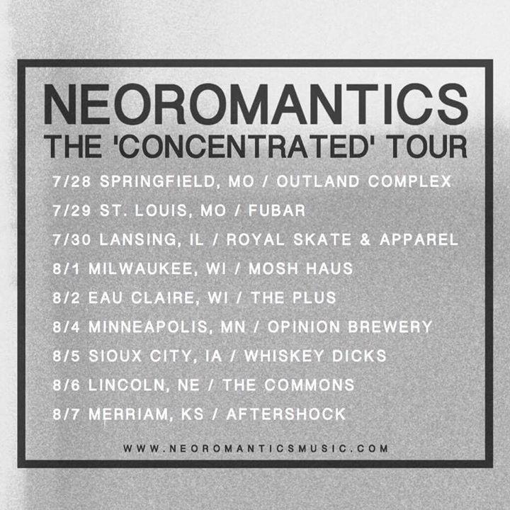 NeoRomantics Tour Dates