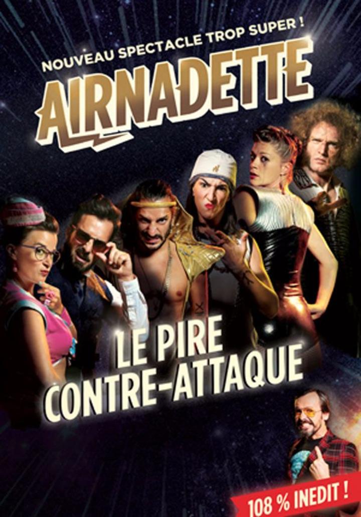 AIRNADETTE @ Kulturfabrik (Lux) - Esch-Sur-Alzette, Luxembourg