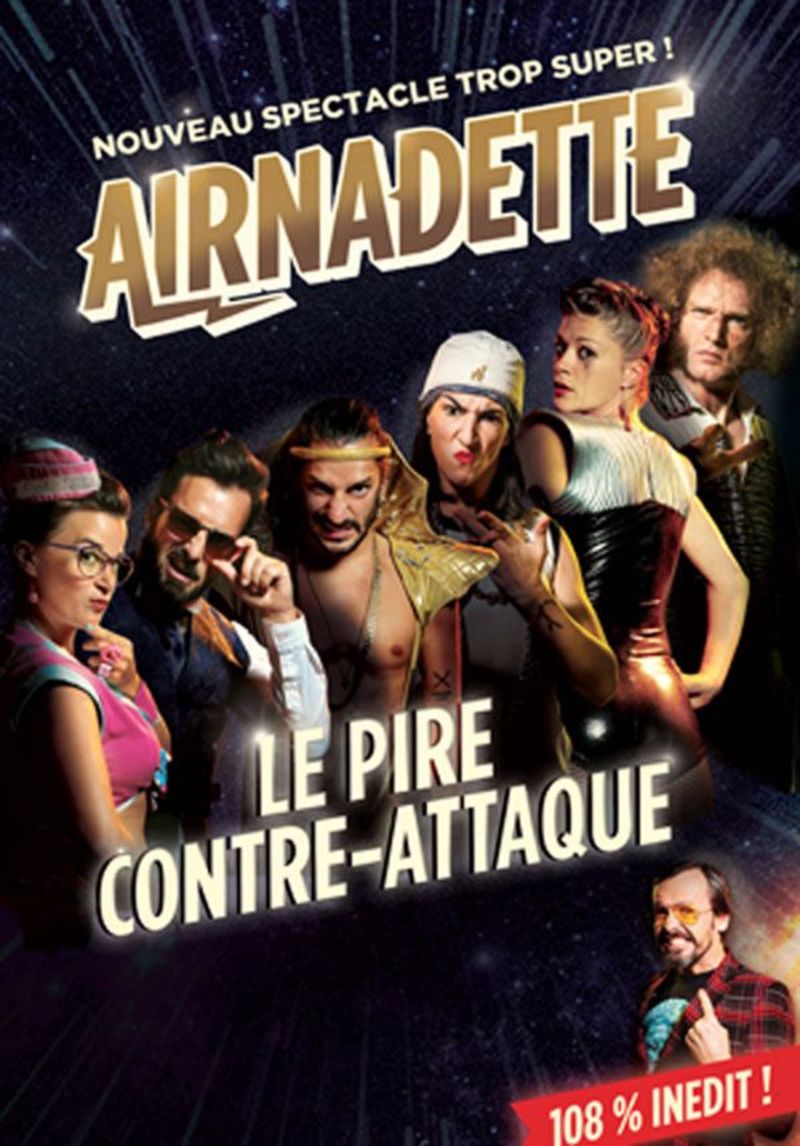 AIRNADETTE @ Théâtre des Cordeliers (26) - Romans-Sur-Isère, France