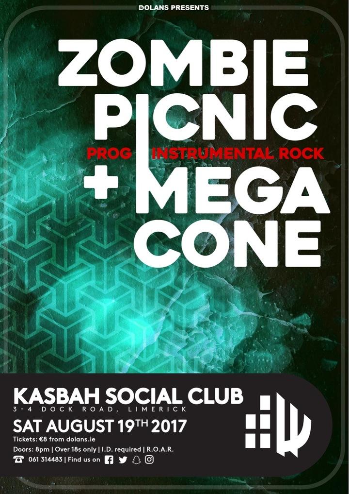 Zombie Picnic @ The Kasbah Social Club - Limerick, Ireland