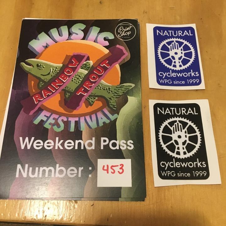3peat @ Rainbow Trout Festival - St Malo, Canada