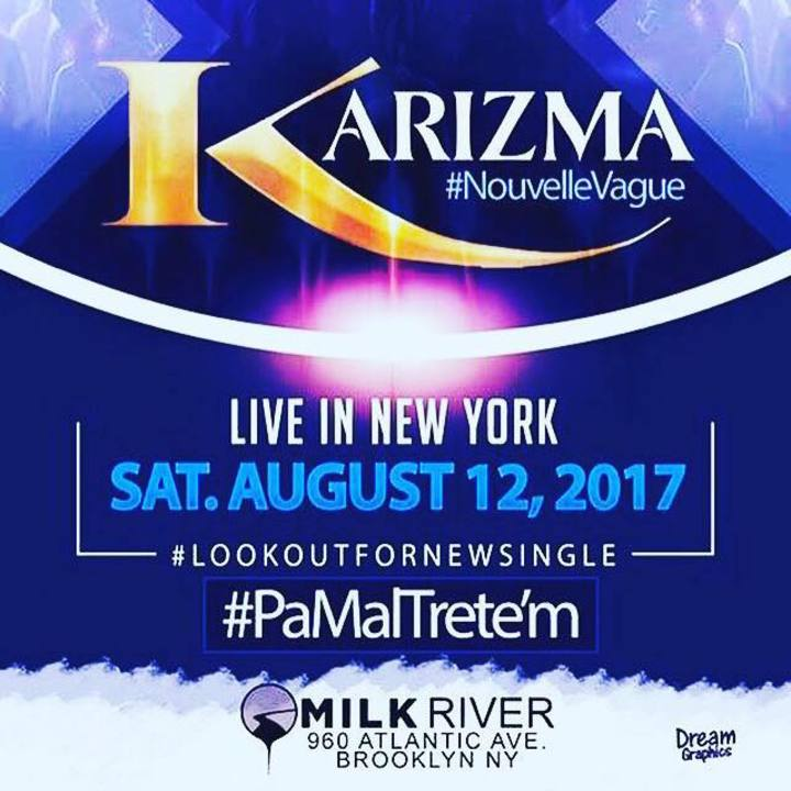Karizma NYC fan Tour Dates