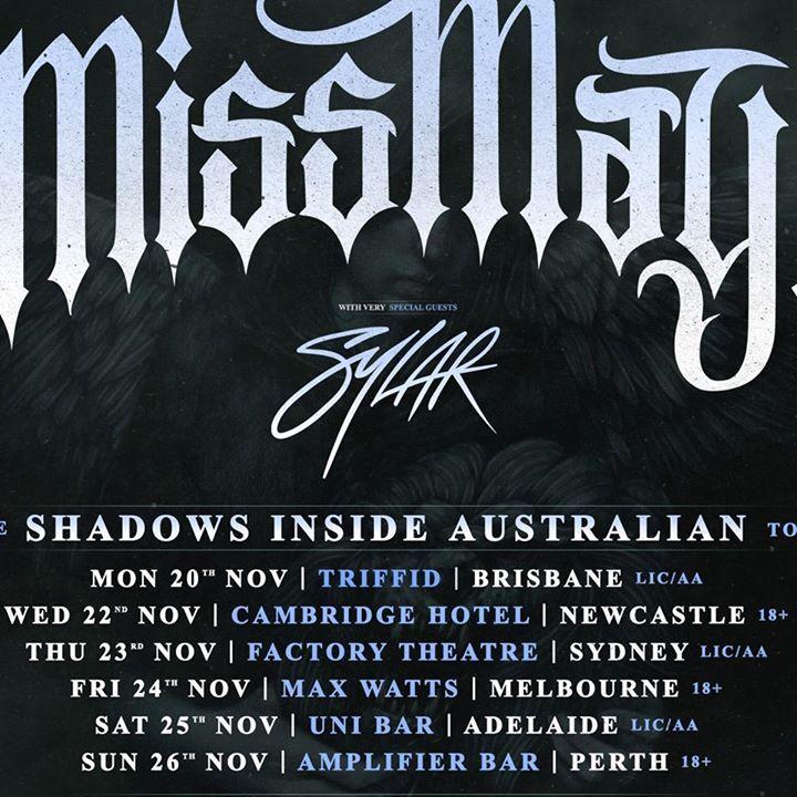 Destroy All Lines Tour Dates