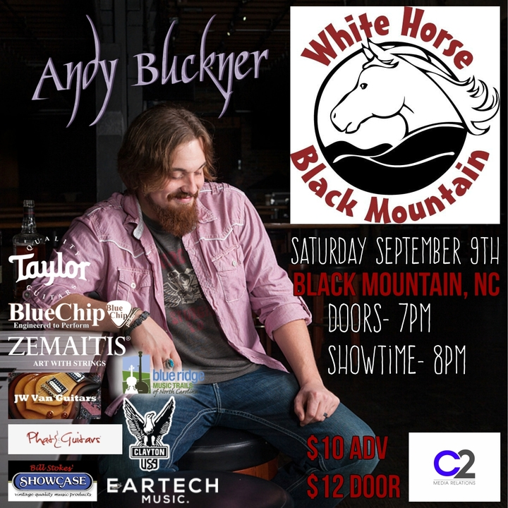 Andy Buckner Music @ White Horse  - Black Mountain, NC