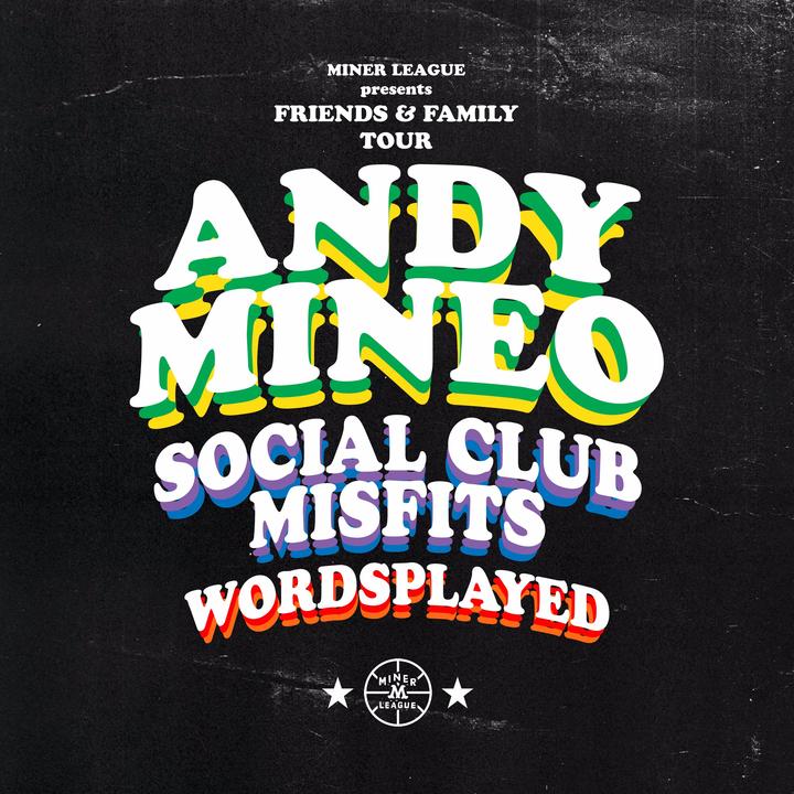 Andy Mineo @ Hard Rock Hotel & Casino – Vinyl - Las Vegas, NV