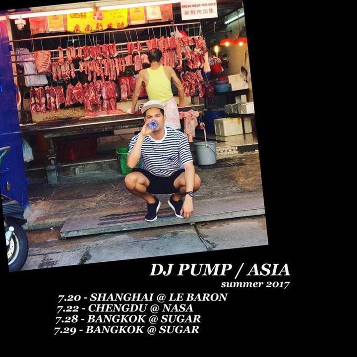 DJ Pump Tour Dates