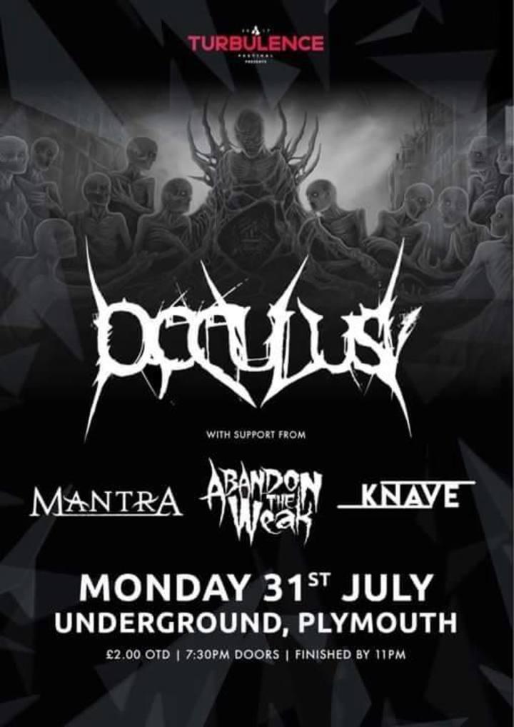 Occulus Tour Dates