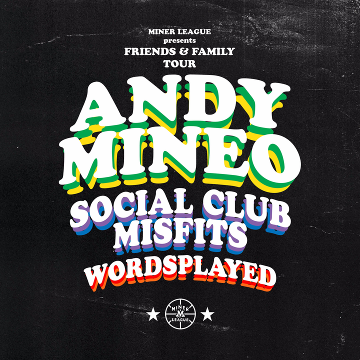 Andy Mineo @ Rams Head Live - Baltimore, MD