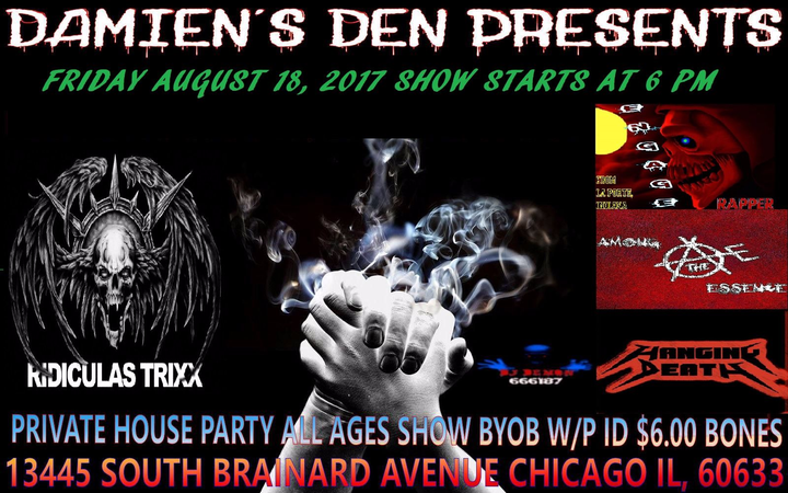 Ridiculas Trixx @ Damien's Den - Chicago, IL