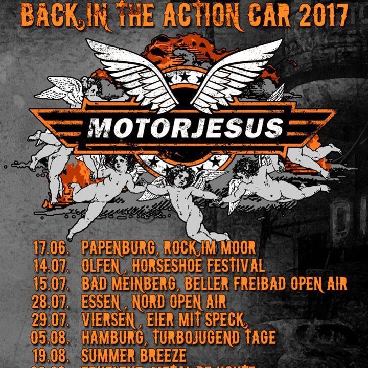 Motorjesus Tour Dates