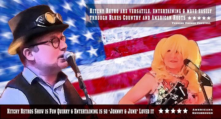 KitchyRetro - Americana Duo @ Acoustic Lounge Stockton  - Stockton-On-Tees, United Kingdom