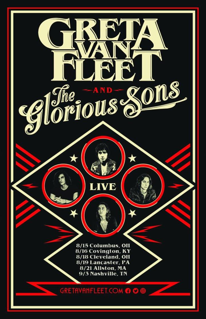 The Glorious Sons @ The High Watt - Nashville, TN
