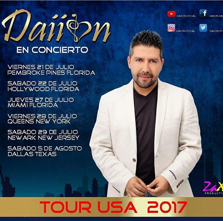 Dayon Tour Dates