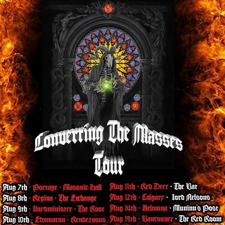 Dark Messiah Tour Dates