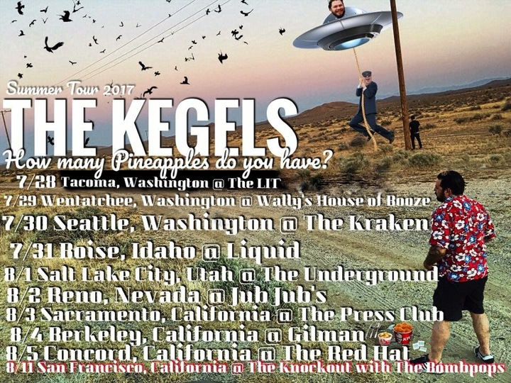 The Kegels Tour Dates