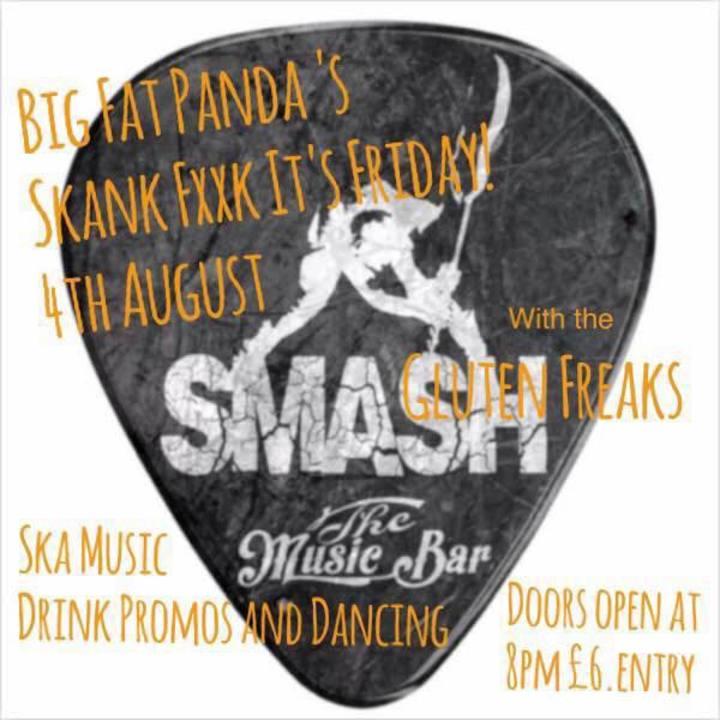 Big Fat Panda's Skank Fxxk it's Friday Tour Dates