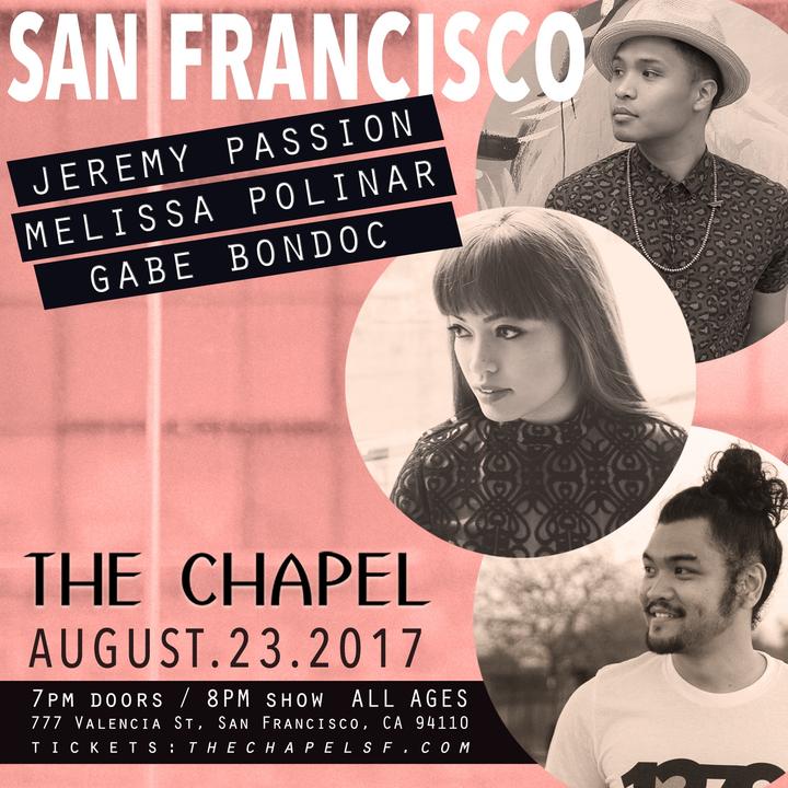 Melissa Polinar @ The Chapel - San Francisco, CA