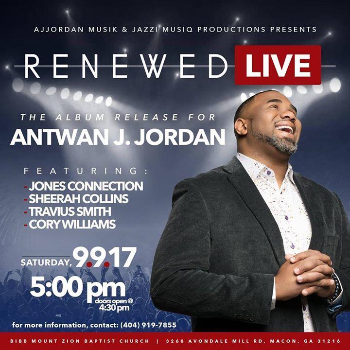 Antwan J. Jordan @ Bibb Mount Zion Baptist Church - Macon, GA