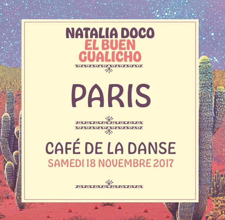 Natalia Doco @ Café de la Danse - Paris, France