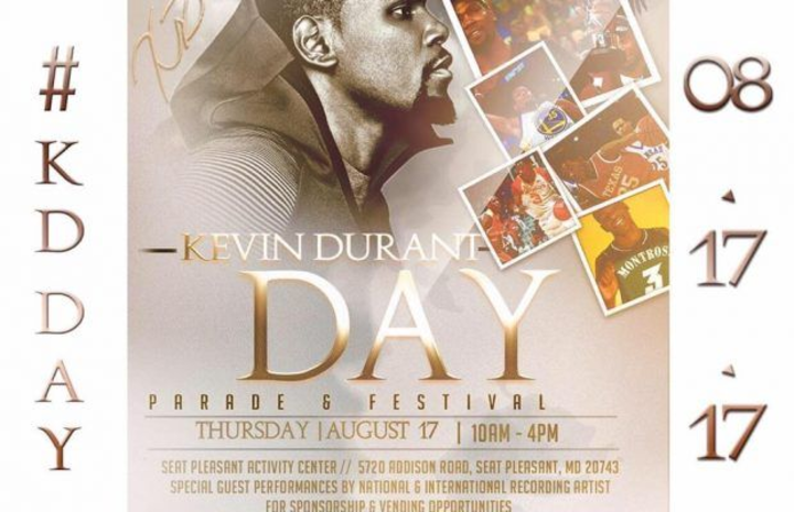 London Savoy @ Kevin Durant Day in Seat Pleasant - Seat Pleasant, MD