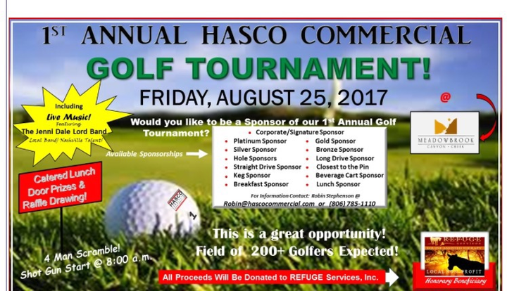 Jenni Dale Lord @ 1st Annual HASCO Commercial Golf Tournament - Lubbock, TX