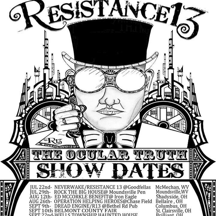 Resistance 13 Tour Dates