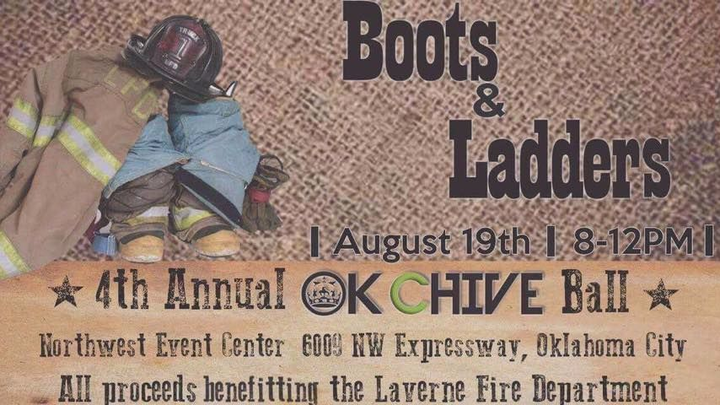 Brandon Jackson @ 4th Annual Chive Ball-Boots & Ladders - Oklahoma City, OK