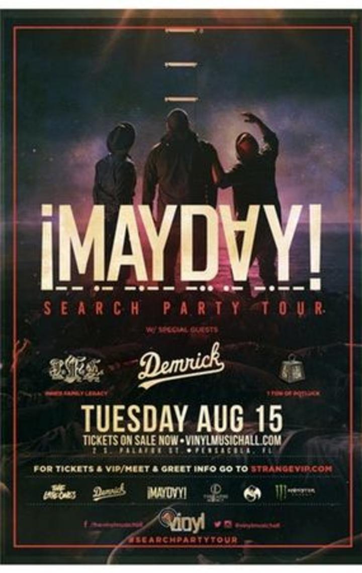 ¡Mayday! @ Vinyl Music Hall - Pensacola, FL