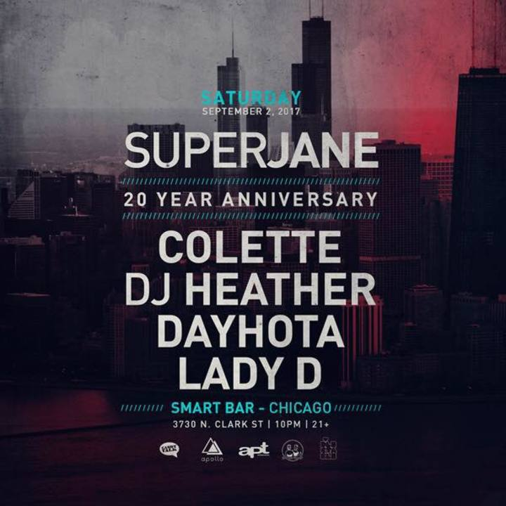 Superjane Tour Dates