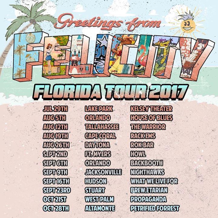 Felicity Tour Dates