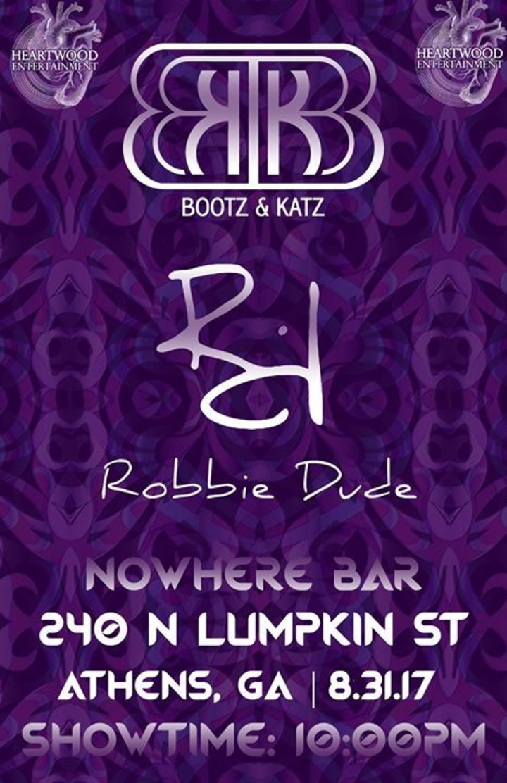Bootz & Katz @ Nowhere Bar - Athens, GA