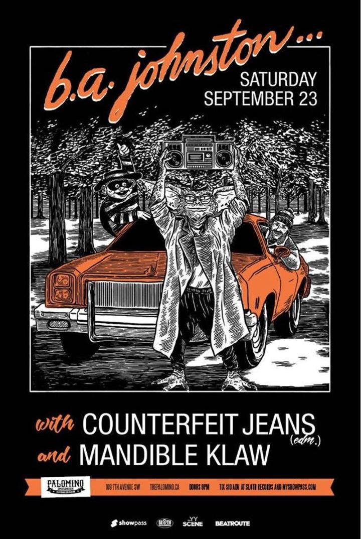 Counterfeit Jeans @ The Palomino  - Calgary, Canada