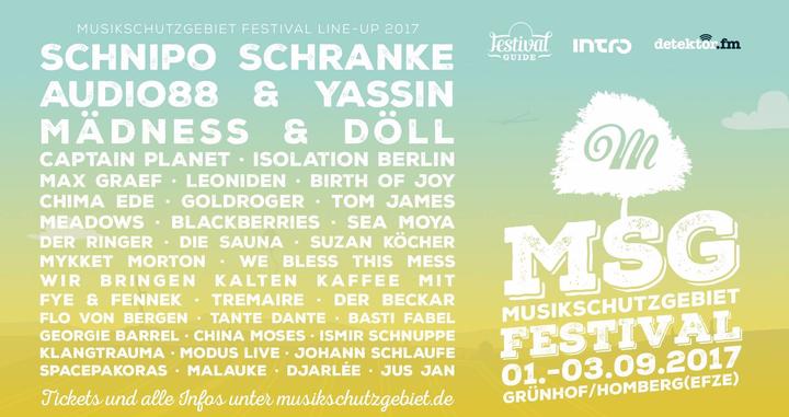 We Bless This Mess @ Musikschutzgebiet Festival - Wabern, Germany