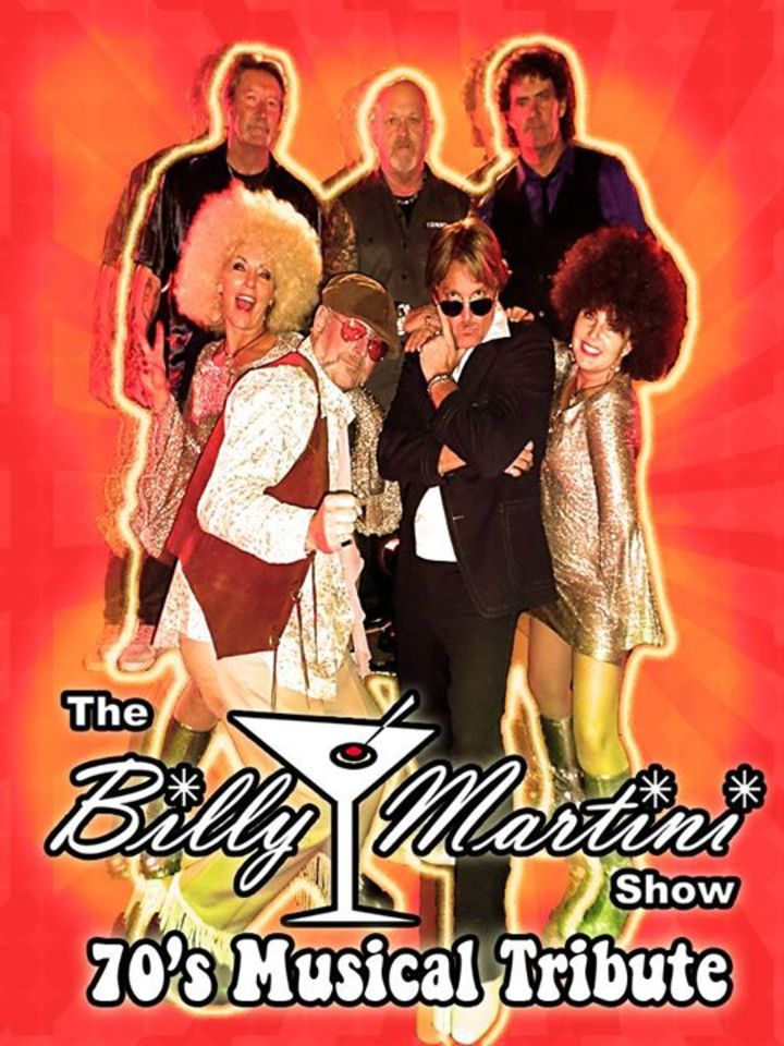 The Billy Martini Show Tour Dates