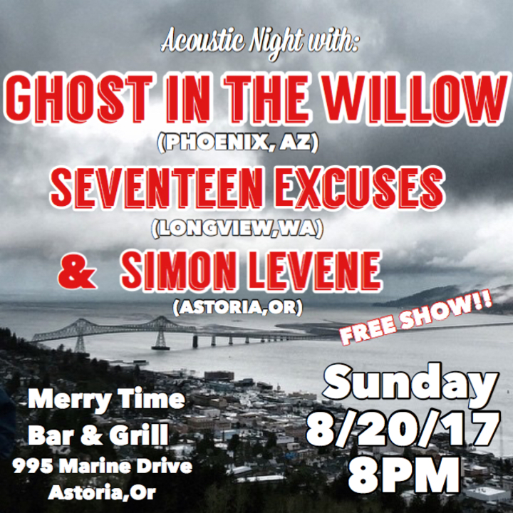 Seventeen Excuses @ Merry Time Bar And Grill - Astoria, OR