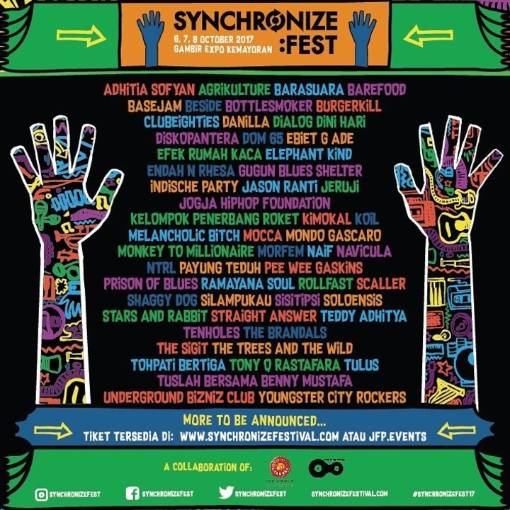 Mocca @ Synchronize Festival 2017 - Jakarta, Indonesia