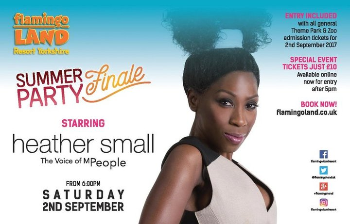 Heather Small - The Voice Of M People @ Flamingo Land Resort - Malton, United Kingdom