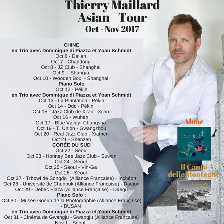 Thierry Maillard  compositeur  pianiste @ Busan - Busan, Korea, Republic Of
