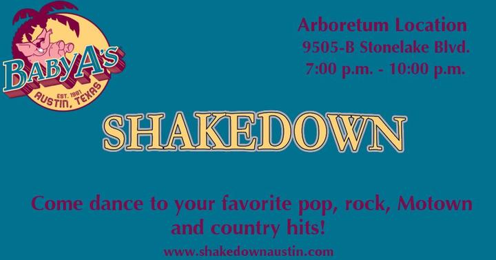 Shakedown Band Austin @ Baby Acapulco - Austin, TX