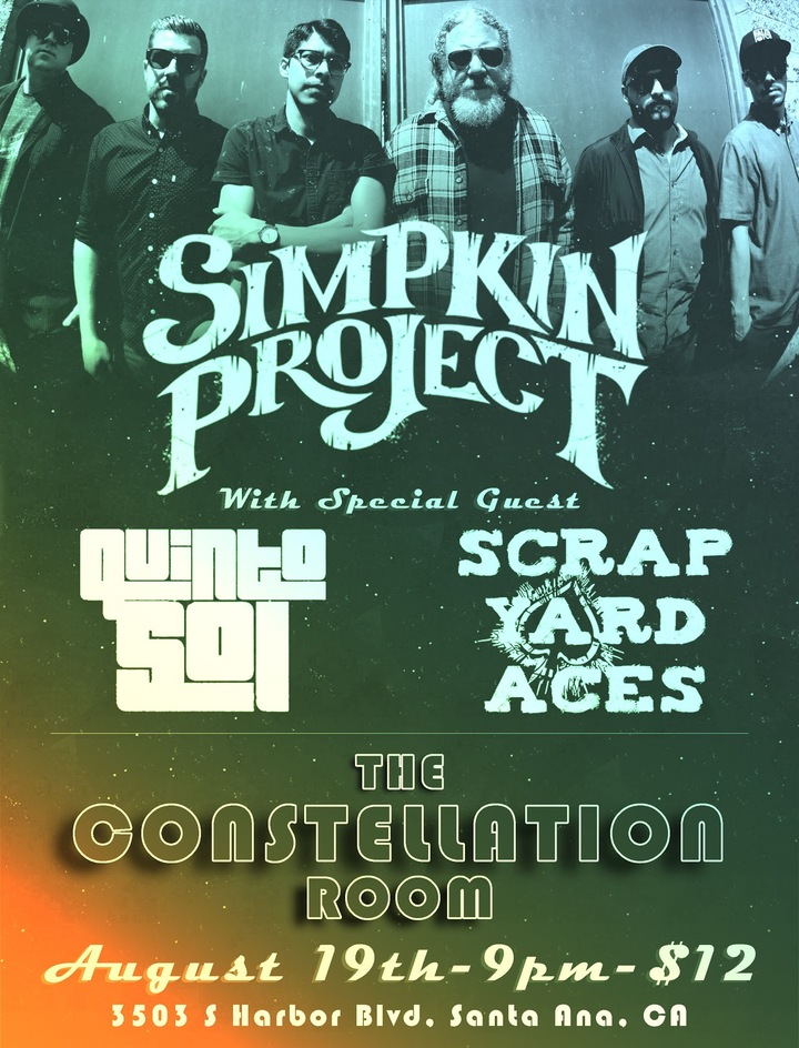 Scrap Yard Aces @ Constellation Room - Santa Ana, CA