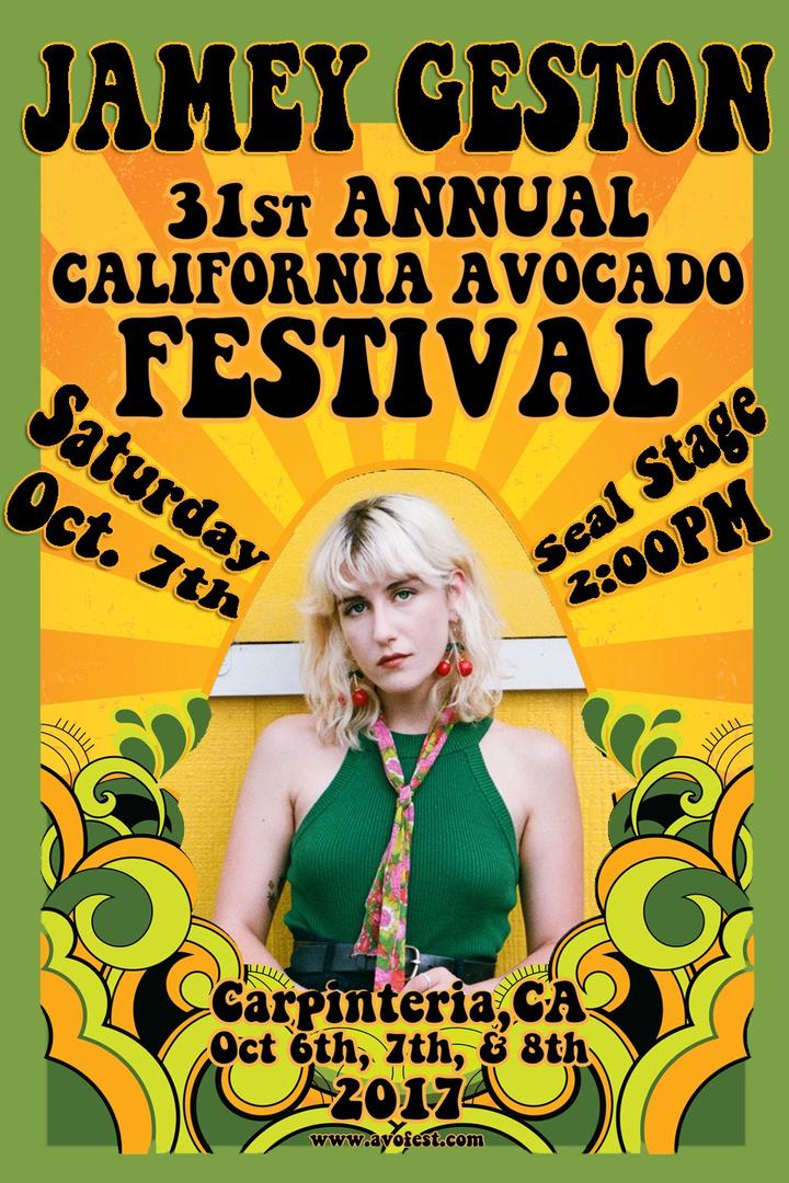 Jamey Geston @ California Avocado Festival - Carpinteria, CA