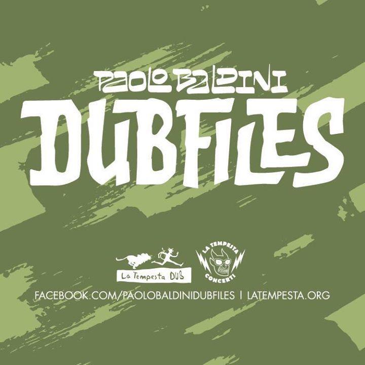 Paolo Baldini DubFiles Tour Dates